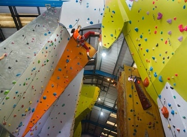 The Reach - climbing wall